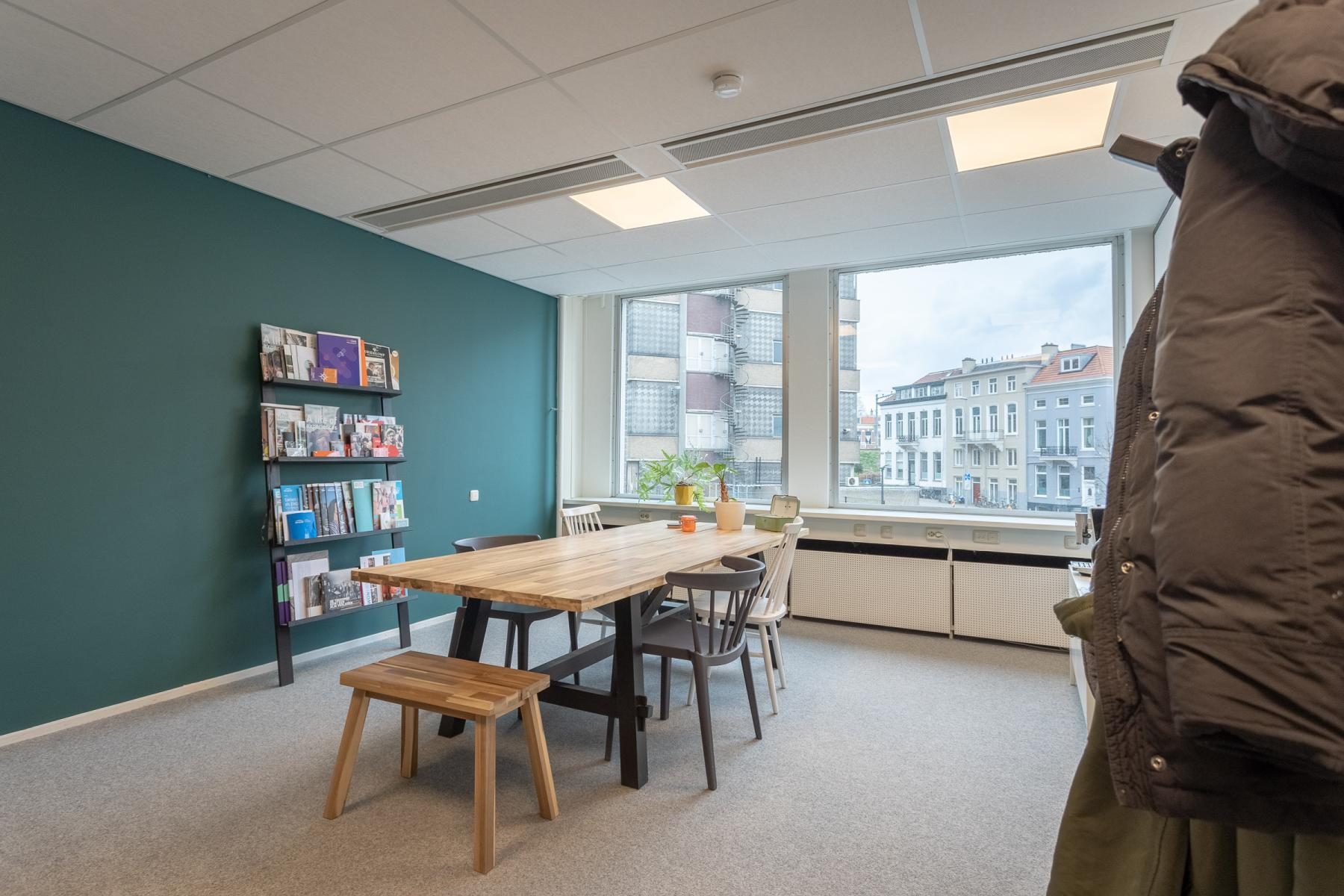 Overlegruimte Arnhem kantoorruimte mooi uitzicht centraal gelegen in het centrum