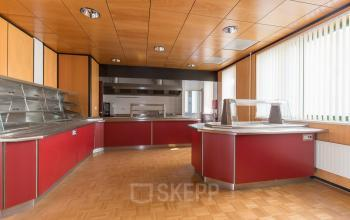 canteen kitchen pantry red barneveld