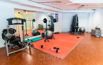 fitness ruimte in het pand aanwezig