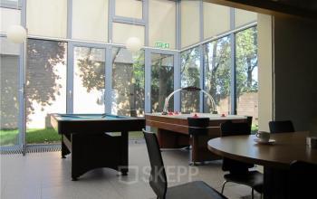 tafelvoetbal biljarttafel lunchruimte algemene gemeenschappelijke ruimte kantoor cuijk de nieuwe erven huren