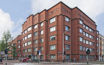 buitenzijde aanzicht kantoorgebouw louis couperusplein