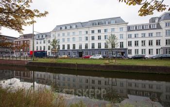 omgeving kantoorpand Koninginnegracht Den Haag