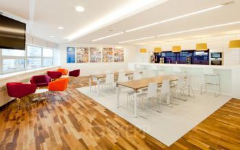 kantoorruimte met open werkplek