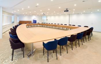 vergaderen conferentie zaal