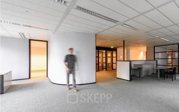 Een kantoorruimte