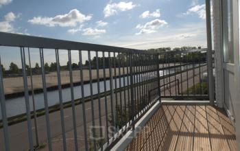 balkon uitzicht kantoor diemen