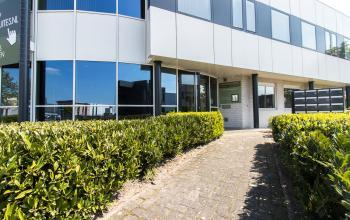 Recently renovated office building at the Marinus van Meelweg in Eindhoven