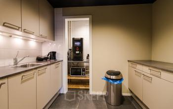 Pantry with dishwasher
