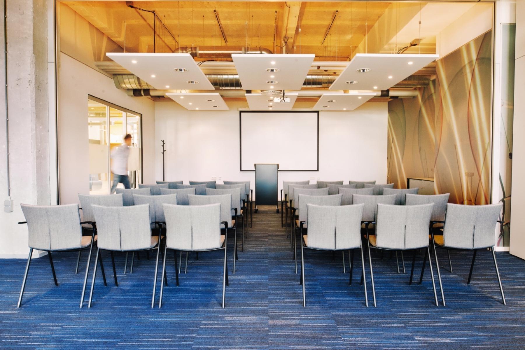 Een presentatie ruimte
