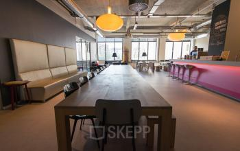 Common canteen and lounge area's