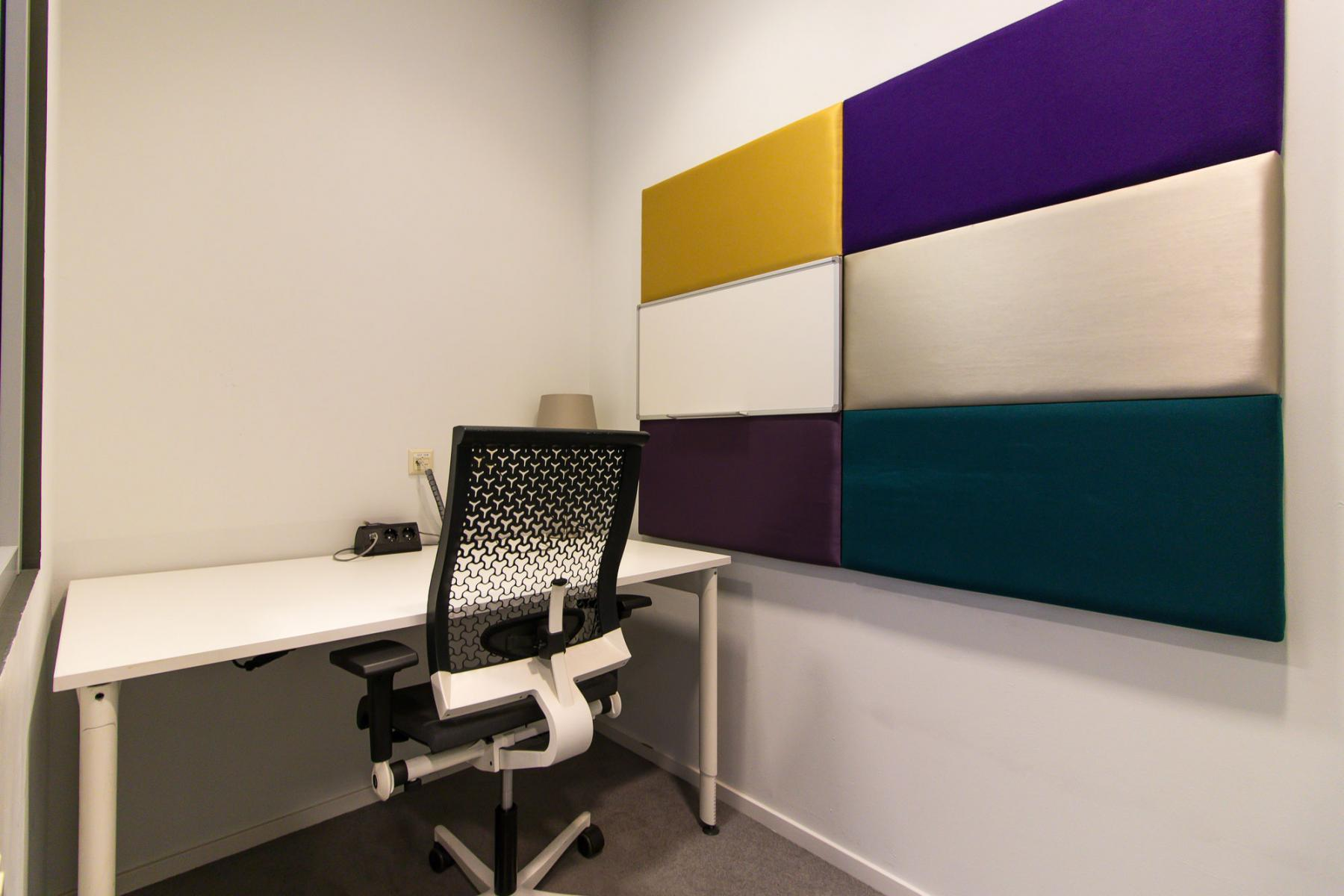 Small rooms available to work in outside your office