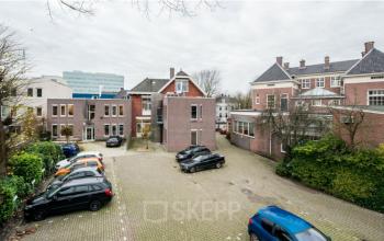 De parkeerplaats in Enschede