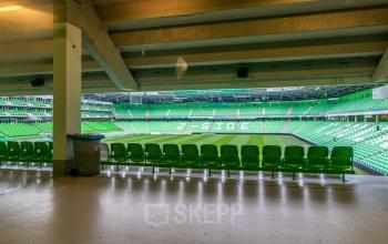 Kantoor gelegen in het pand van FC Groningen