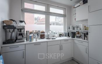 Keukenblok keukentje lunch Groningen kantoorruimte
