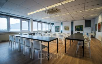 Multiple conference rooms available in the office building
