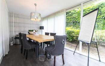 Office spaces in the garden house at the Nieuwe Gracht