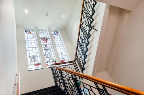 stairway office building haarlem