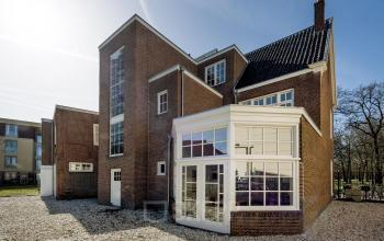 Backside office building Haarlem