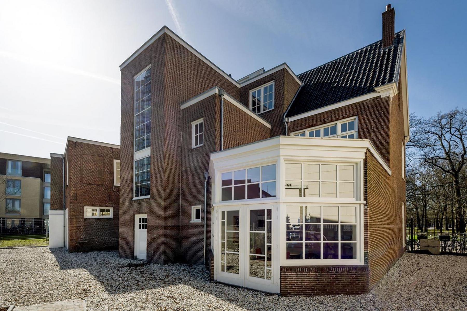 Backside office building Haarlem