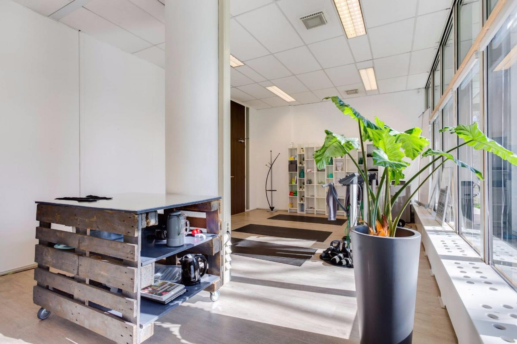 Fitness gym in office building Haarlem