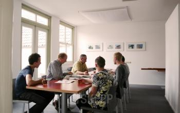 Teamoverleg kantoorruimte Noorderhaven Harlingen SKEPP