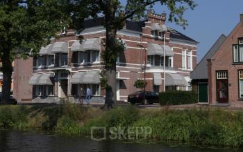 Waterkant voorzijde kantoorruimte Fok Heerenveen