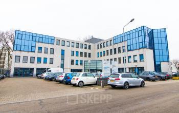 Buitenzijde kantoorpand Hilversum