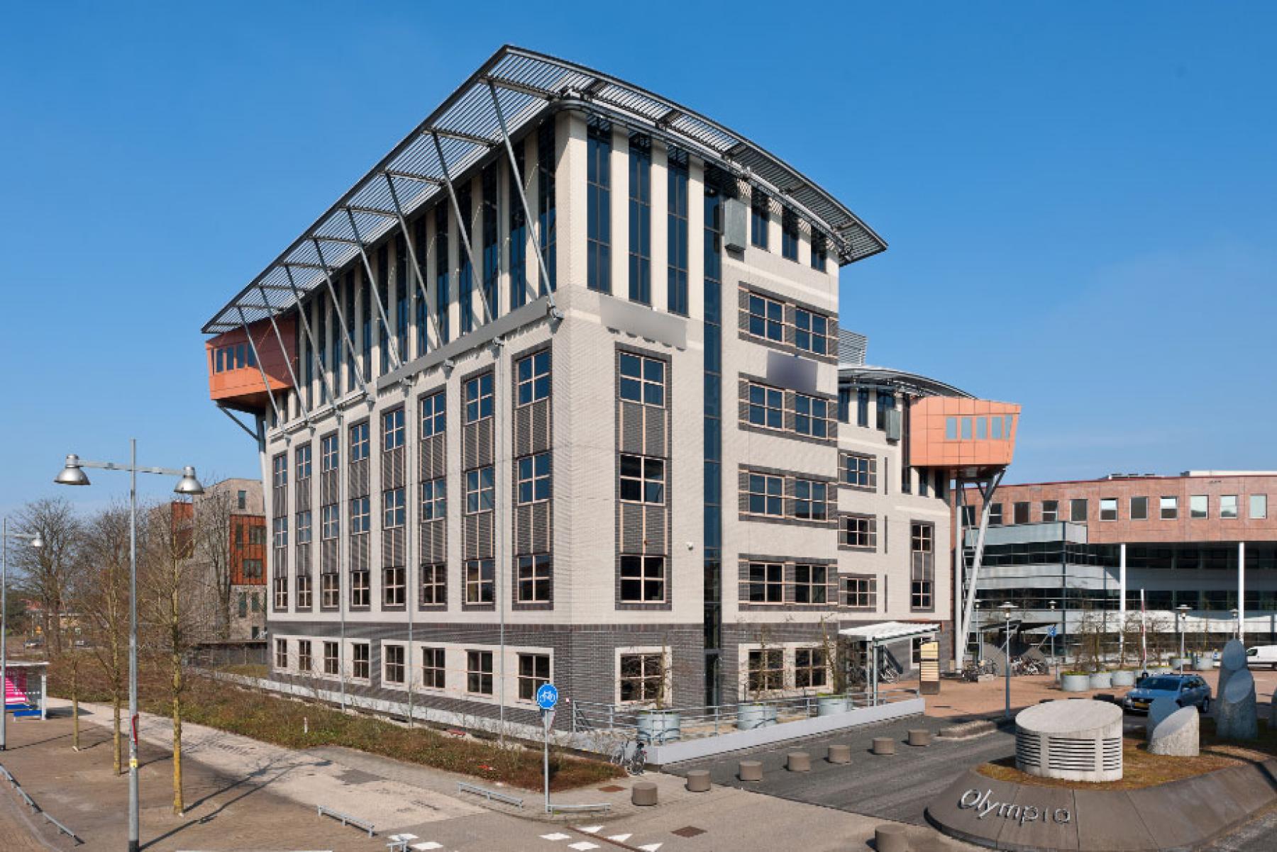 kantoorgebouw hilversum olympia huren skepp