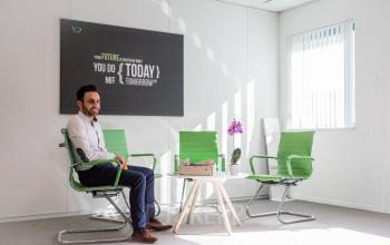 green chairs office room for rent hoofddorp