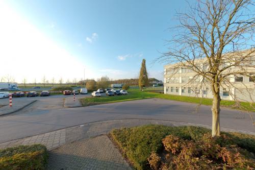 De parkeerplekken in Houten