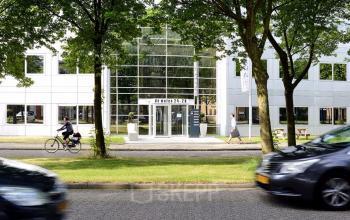 Front side of office building in Houten