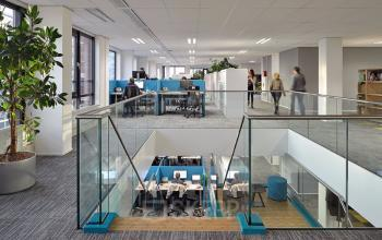 Working places in office building Leiden