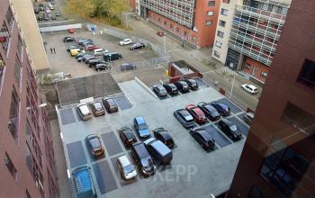 Parking spots office building Leiden