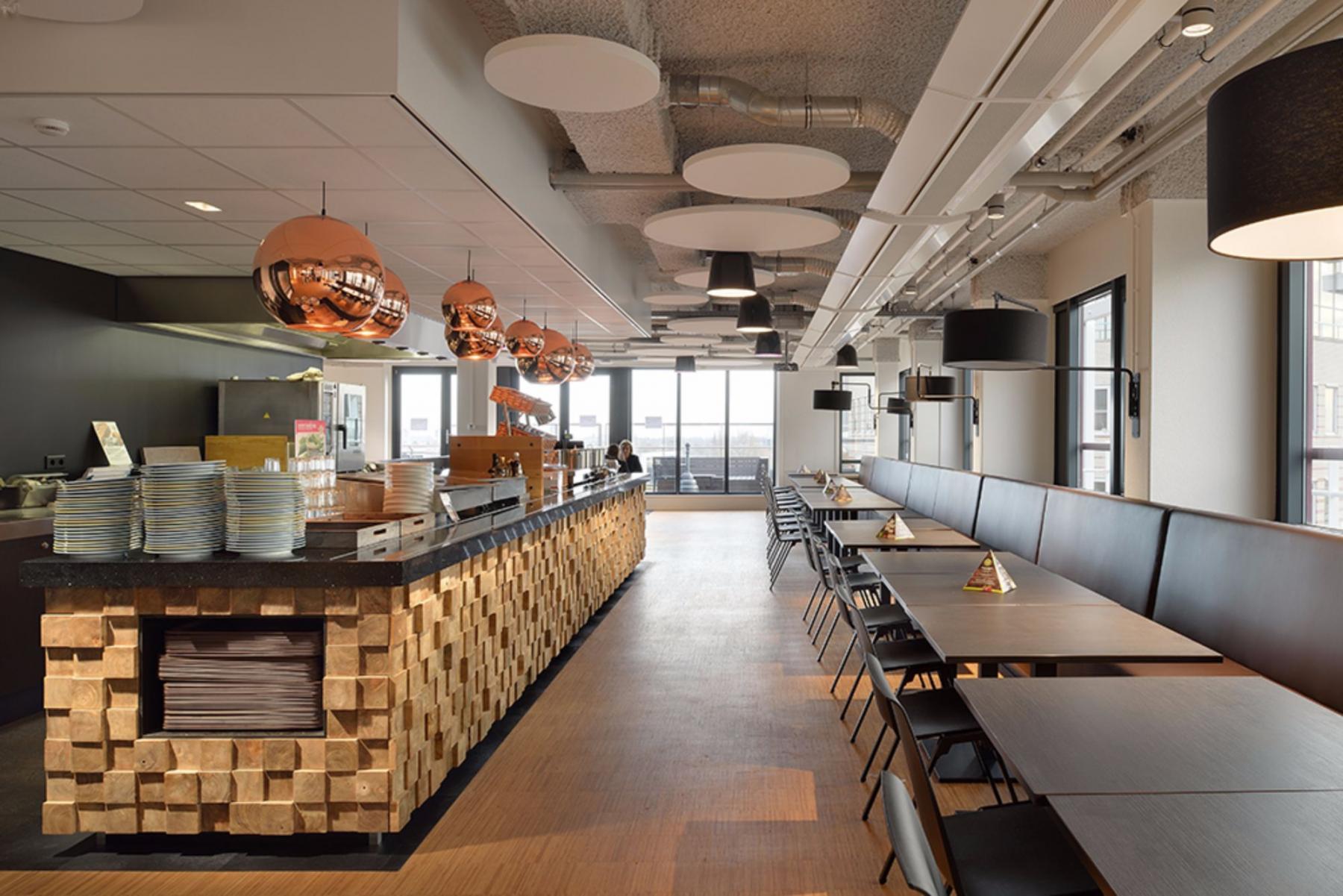 Lunchroom is office building Leiden