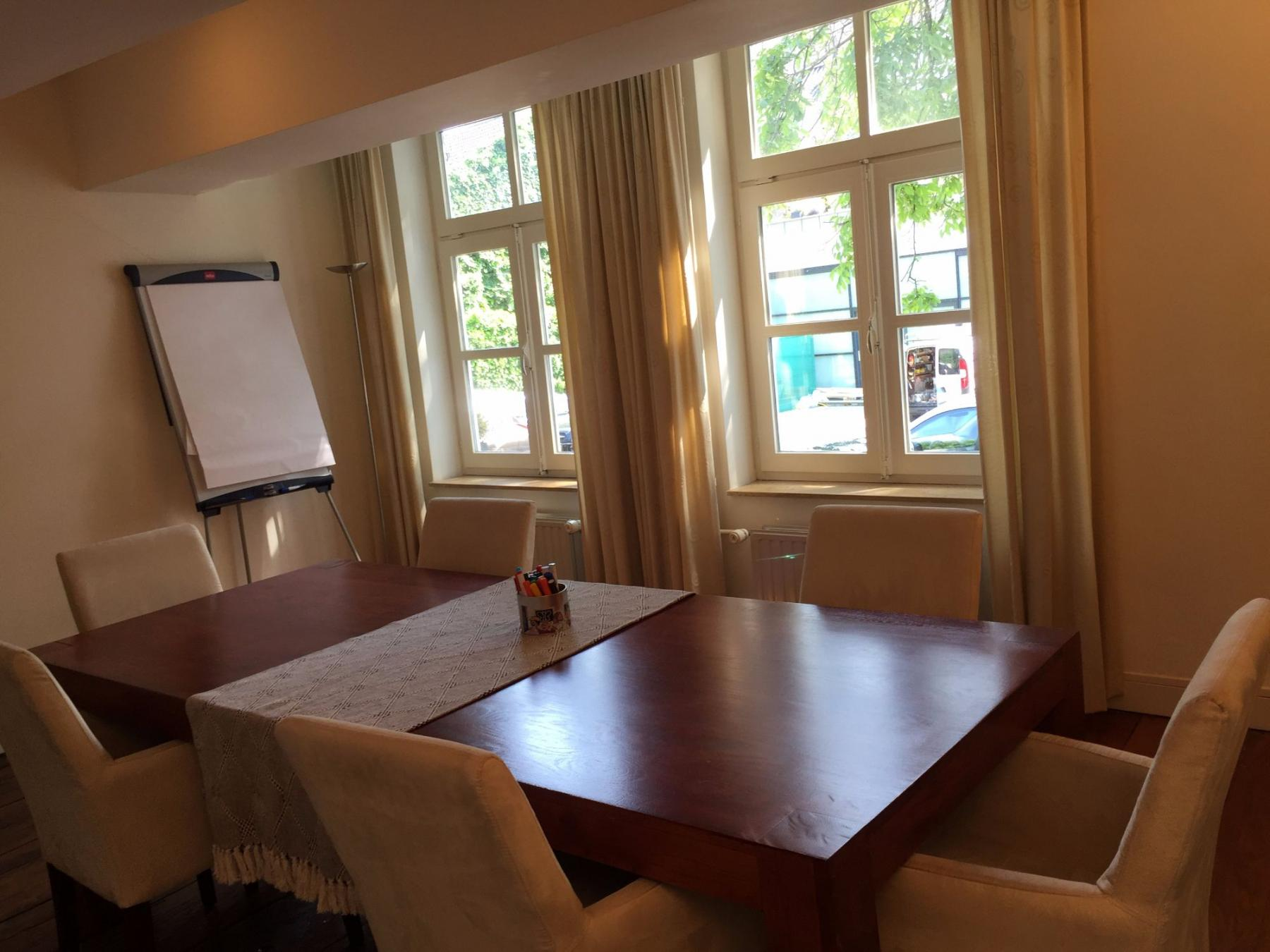 Meeting room in Maastricht with table and chairs