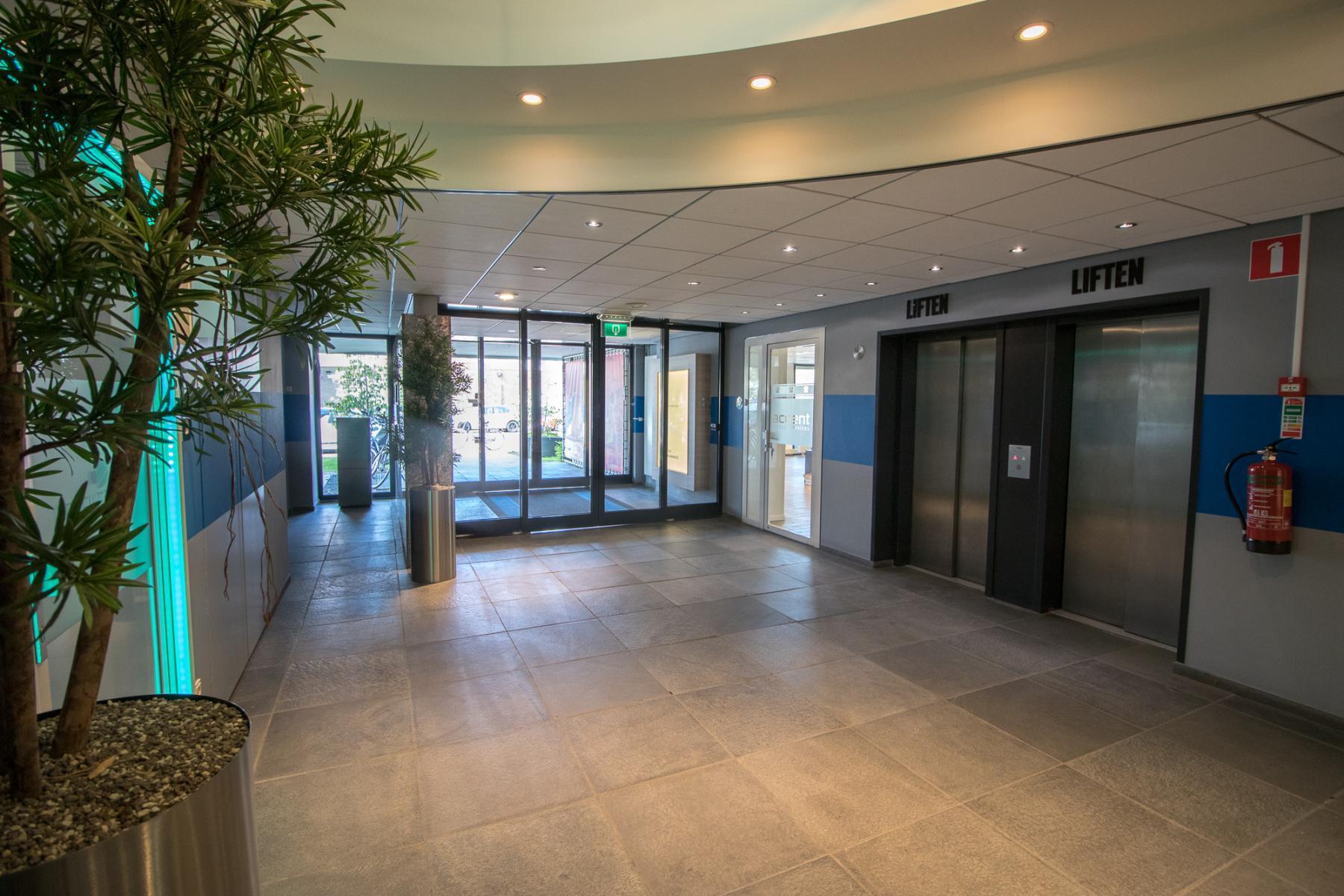 Entrance office building Rijswijk