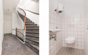 toilet met trap