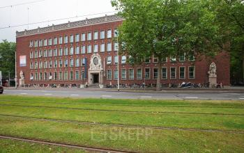 buitenaanzicht kantoorgebouw Schiekade Rotterdam