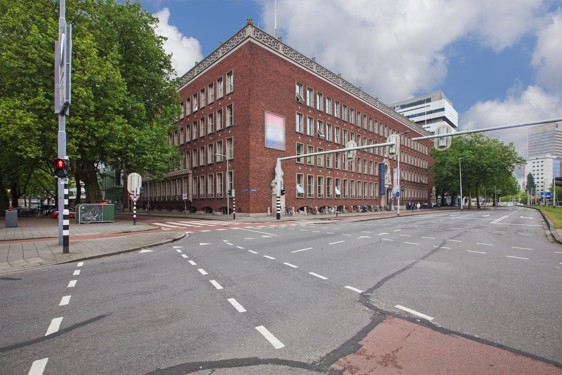 omgeving kantoorgebouw Schiekade Rotterdam