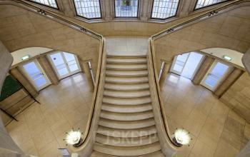 trappenhuis pand Rotterdam Schiekade