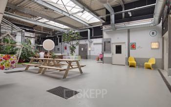 kantoorruimte huren aan van helmontstraat in rotterdam met sociaal hart