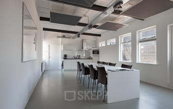 kantoorunits huren aan van helmontstraat in rotterdam met keuken