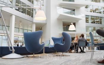 gemeenschappelijke ruimte loungeruimte kantoor Rotterdam