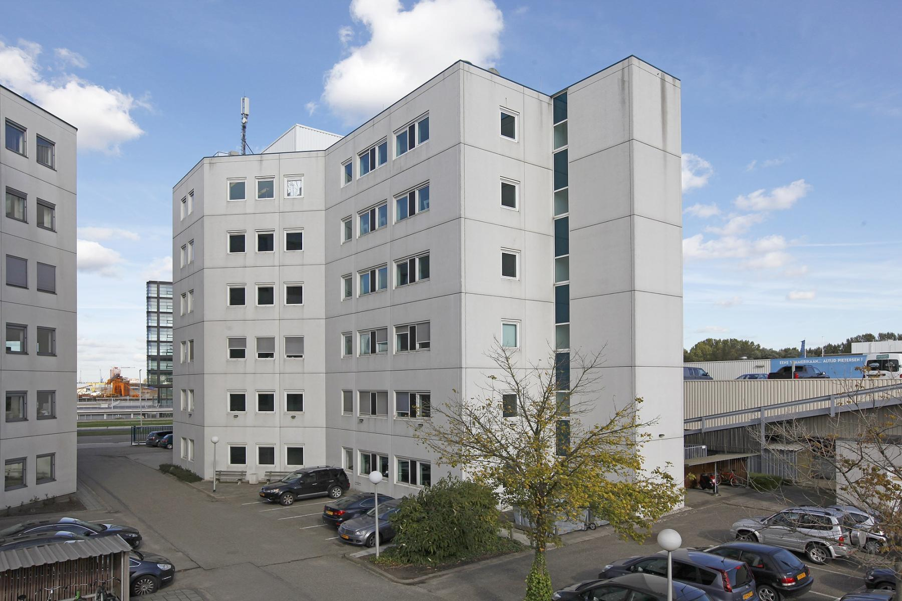 office space rotterdam white office building