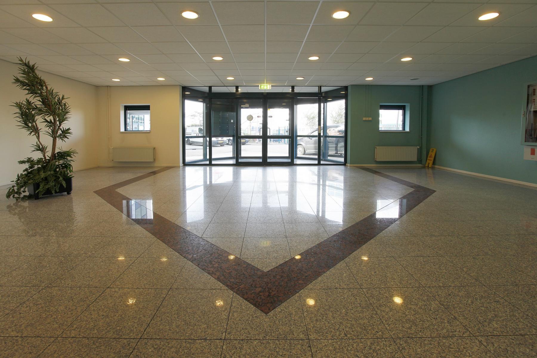 modern floor entrance office building