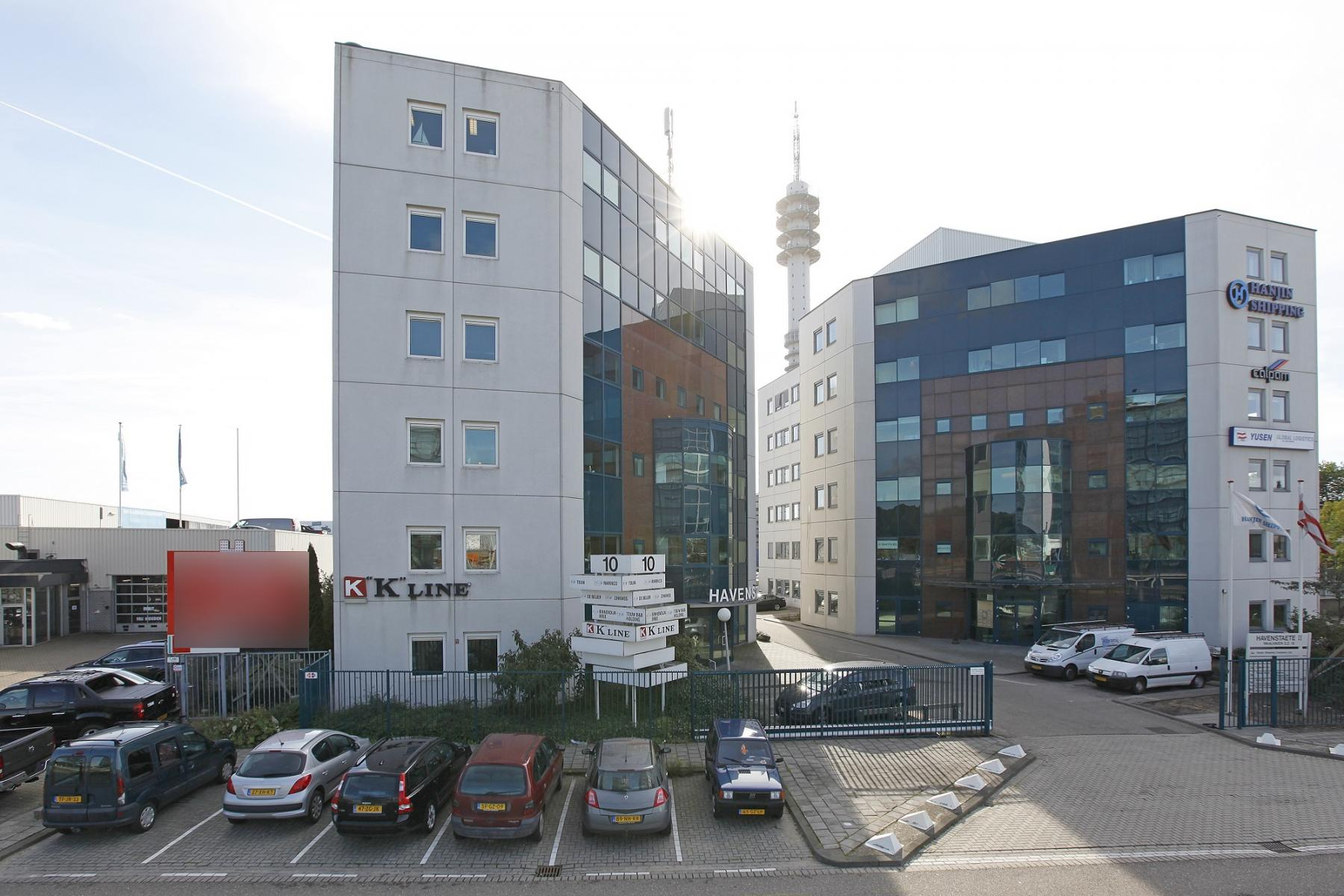 office building rotterdam flexible working spaces
