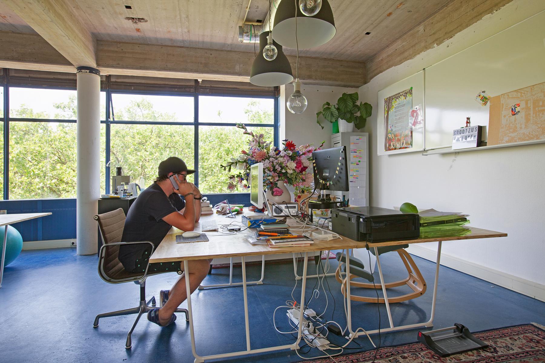 kantoorruimte huren aan vijverhofstraat in rotterdam met beveiliging