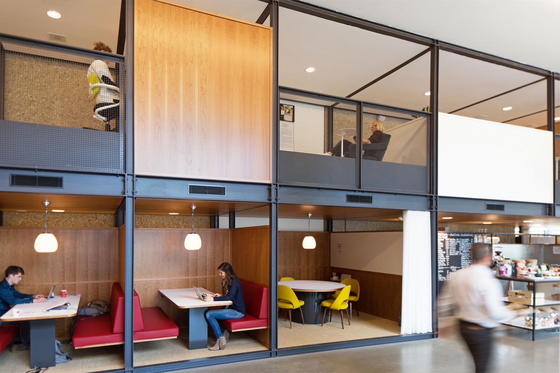 hofplein rotterdam kantoorruimte huren hokjes kantoorunit banken tafels