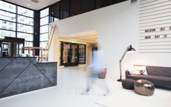 kantoor rotterdam receptie lounge huur kantoorpand alexander treinstation
