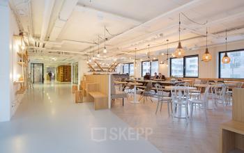 lunchruimte gemeenschappelijke ruimte kantoorgebouw rotterdam alexander